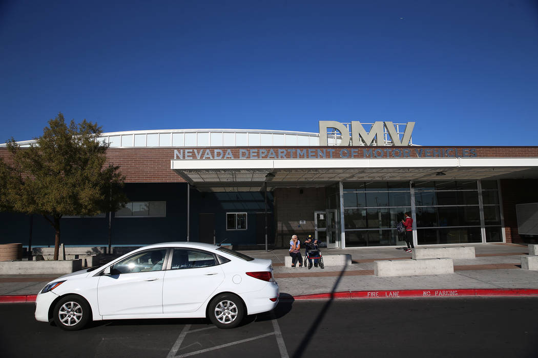 The Nevada Department of Motor Vehicles will require odometer readings when motorists register ...