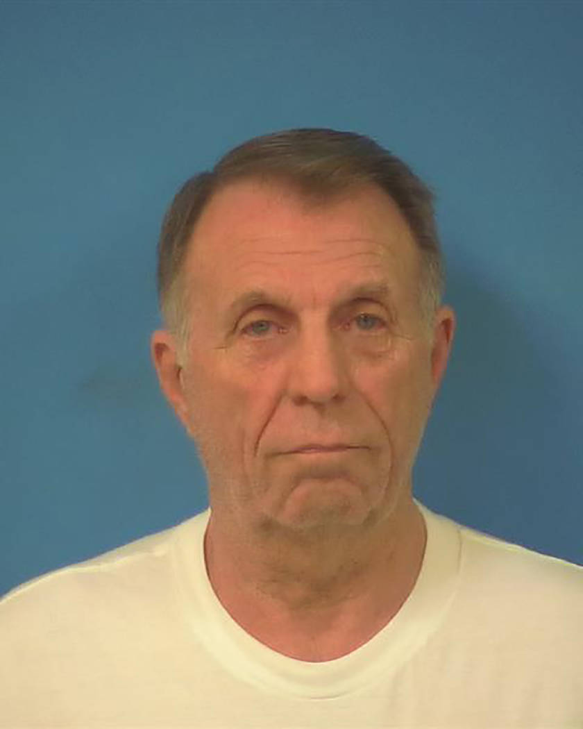 Nye County Sheriff's Office Tom Adams is shown in this photo provided by Nye Couty authorities.