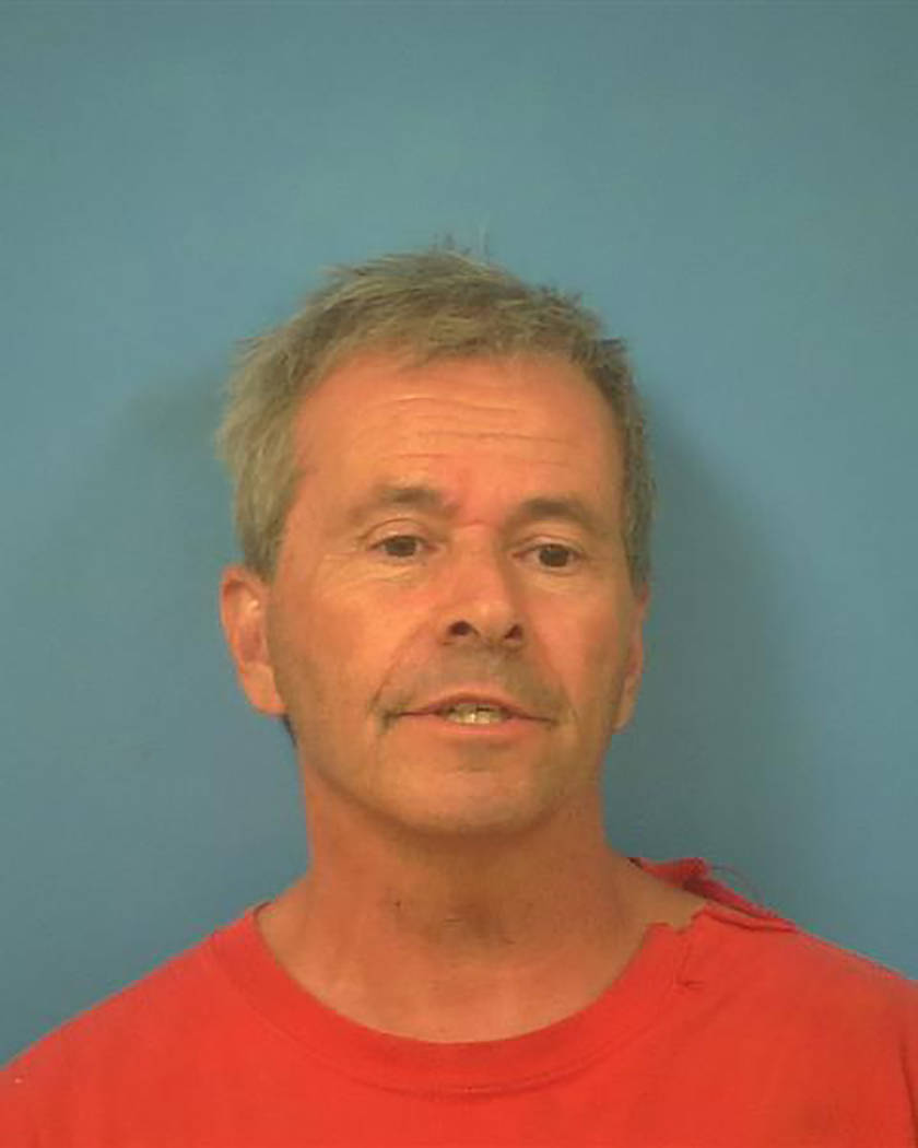 Nye County Sheriff's Office Wade Hinden is identified in this photograph provided by the Nye Co ...
