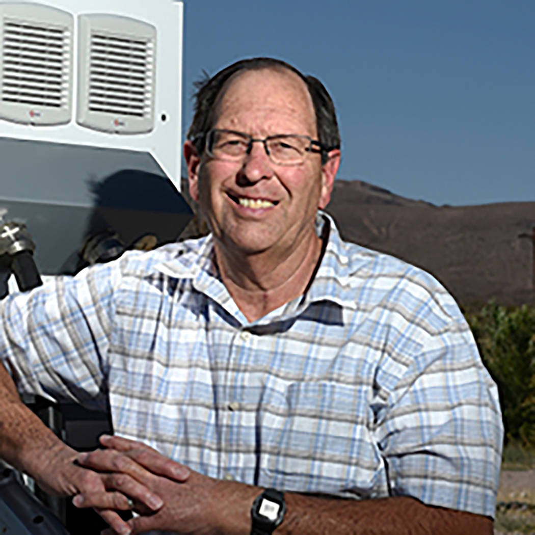 Valley Electric Association Inc. Richard (Rick) Johnson, director for Valley Electric Associat ...