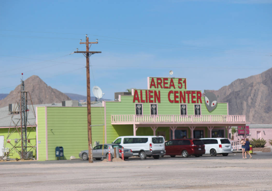 "Area 51 Alien Center in Amargosa Valley was the initial location targeted for the ""Storm Area 5 ..."