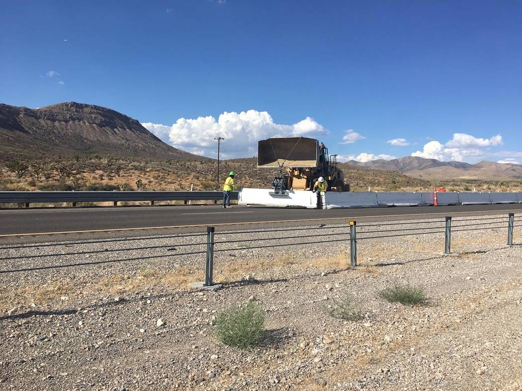 Photo courtesy Nevada Department of Transportation This photo shows an example of a front-whee ...