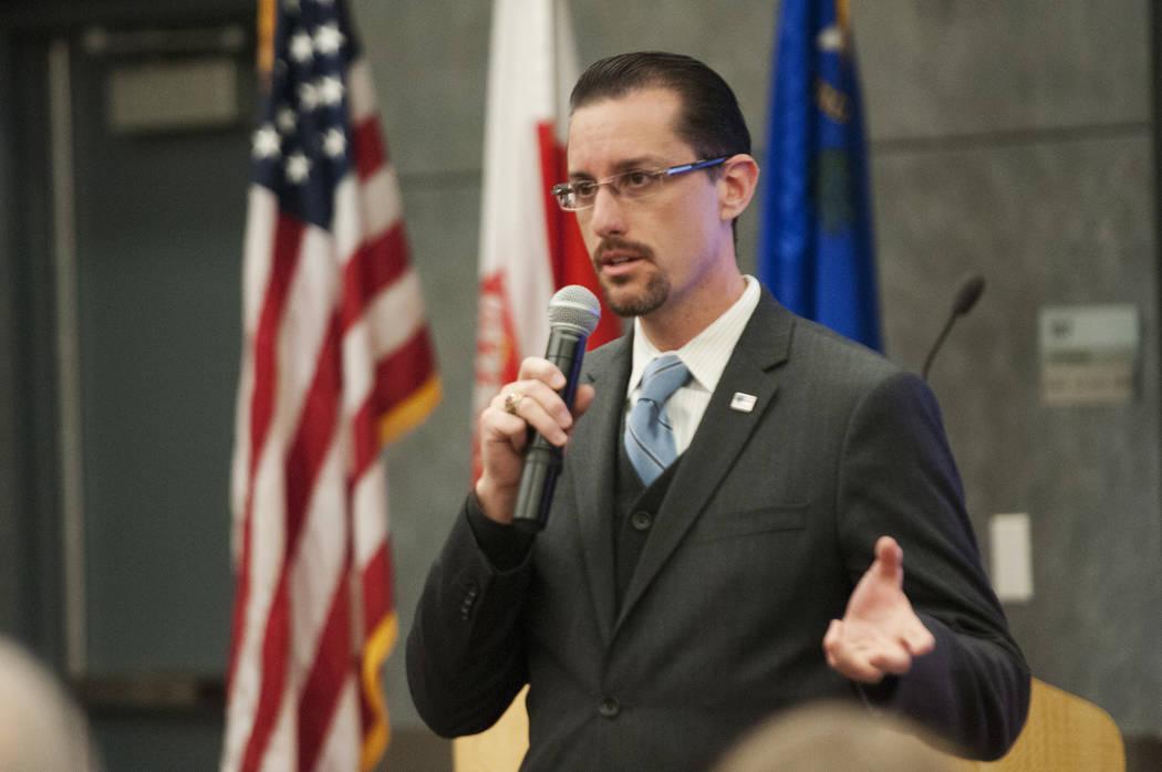 Erik Verduzco/Las Vegas Review-Journal Kris Sanchez, director at the Governors' Office of Ec ...