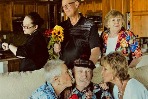 "Special to the Pahrump Valley Times The Shadow Mountain Community Players cast of ""Sex Please, ..."
