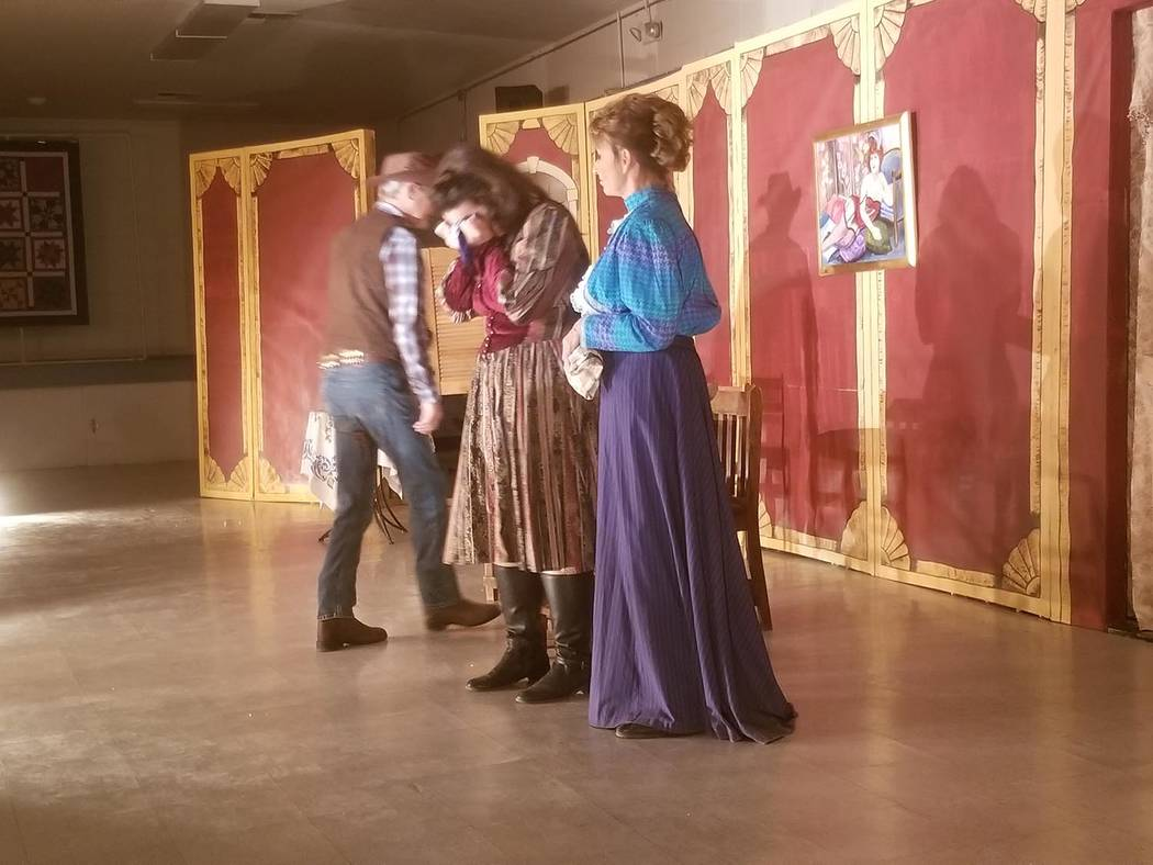 David Jacobs/Pahrump Valley Times The Shadow Mountain Community Players as shown during a perfo ...