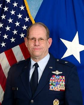 Brig. Gen. William Burks poses for a headshot for the Nevada National Guard. Burks retired Satu ...
