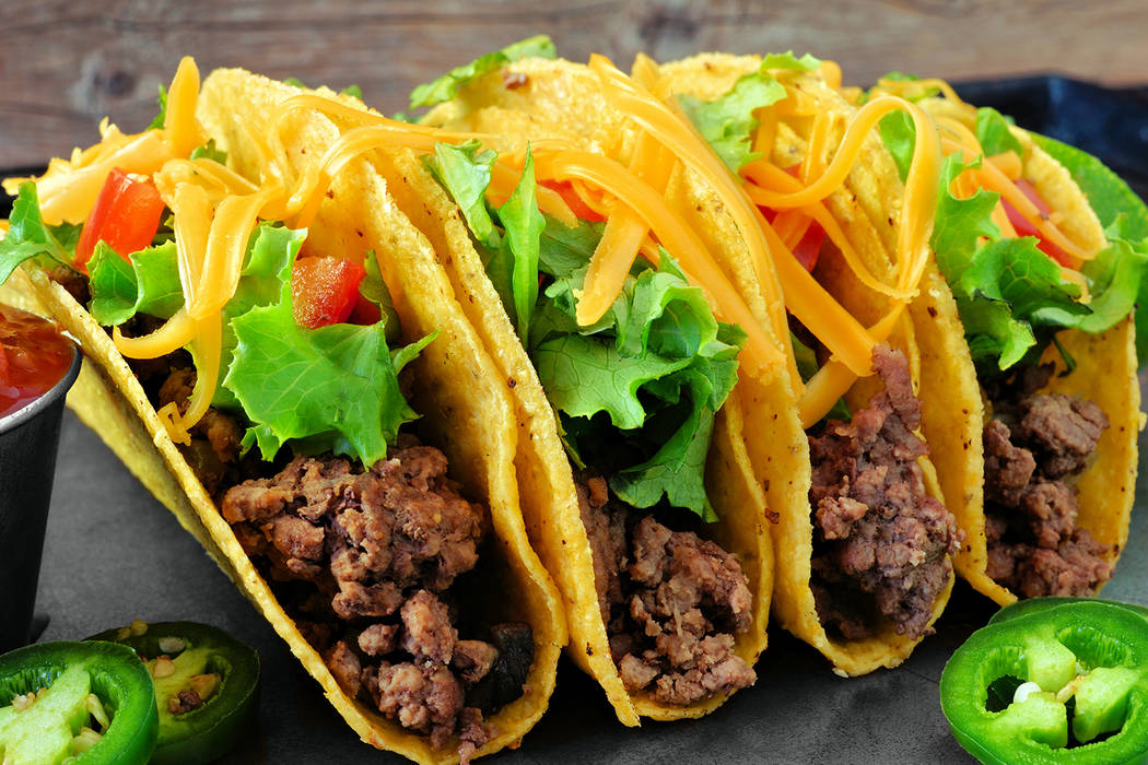 Getty Images Makers of all kinds of tacos are encouraged to enter the Pahrump Taco Fest competi ...
