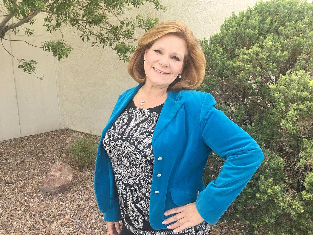 Special to the Pahrump Valley Times Pahrump Taco Fest co-organizer Deanna O'Donnell is encourag ...