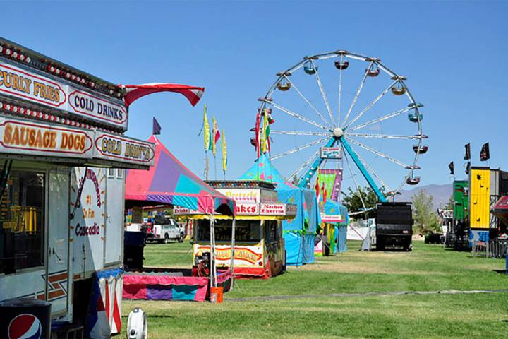 Selwyn Harris/Pahrump Valley Times With a carnival, rodeo, car show, entertainment of all kind ...