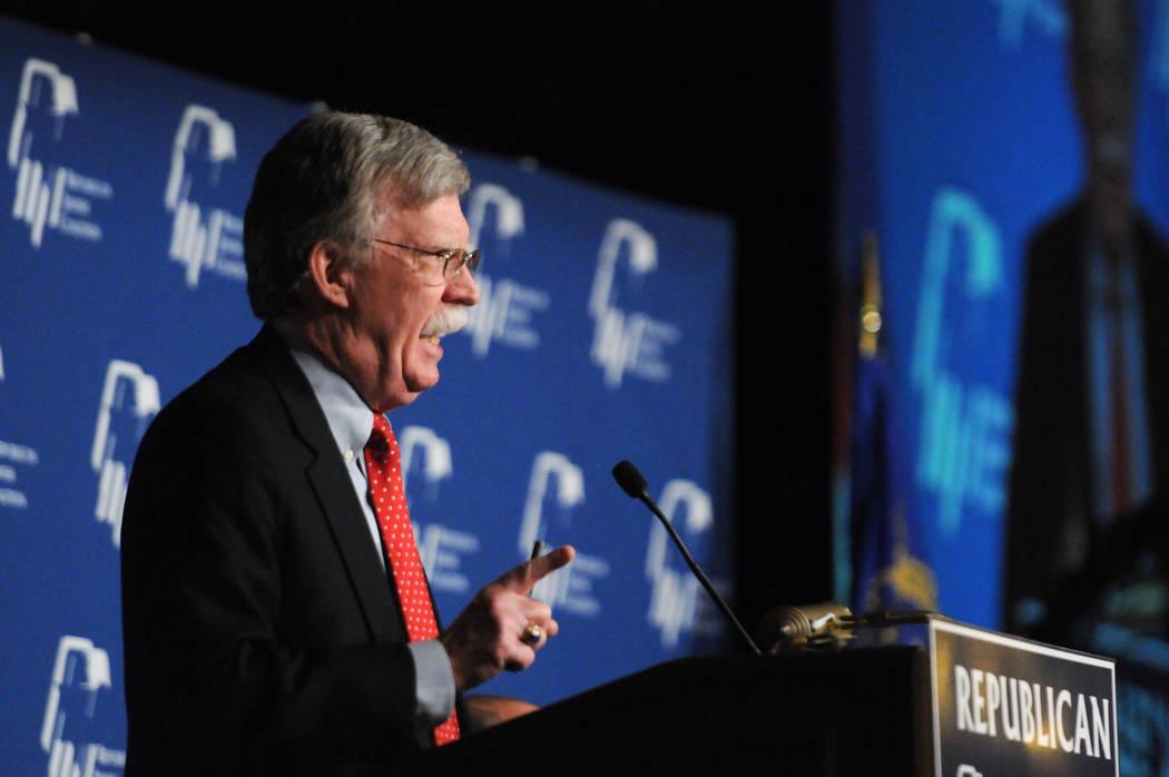 Erik Verduzco/Las Vegas Review-Journal Firing John Bolton is a good start, columnist Thomas Kna ...