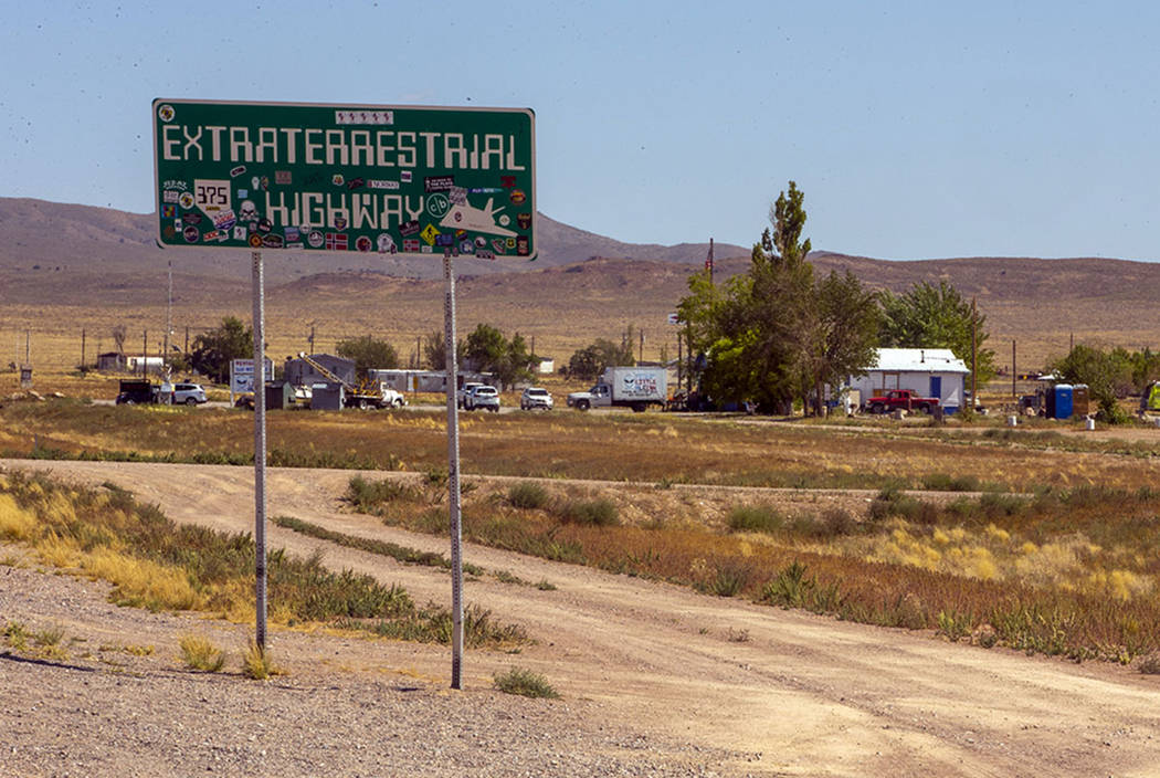 """The Little A'Le'Inn property beside the """"Extraterrestrial Highway"""" will be ground zero for the ..."""