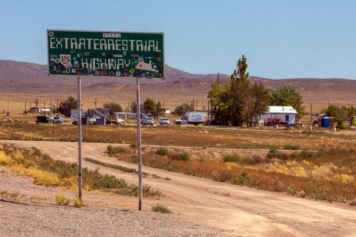 "The Little A'Le'Inn property beside the ""Extraterrestrial Highway"" will be ground zero for the ..."