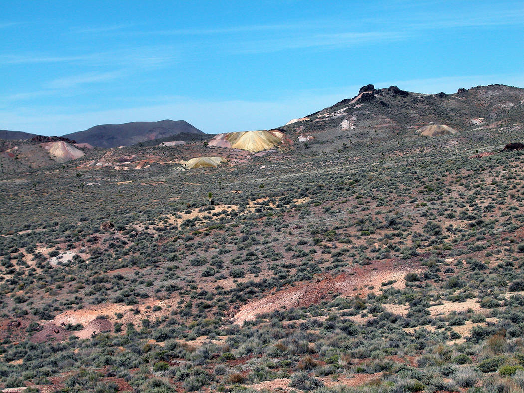 Special to the Pahrump Valley Times/Gemfield Resources LLC A groundbreaking ceremony was held f ...
