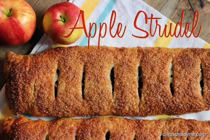 Patti Diamond/Special to the Pahrump Valley Times Apple strudel or Apfelstrudel, a pastry shell ...