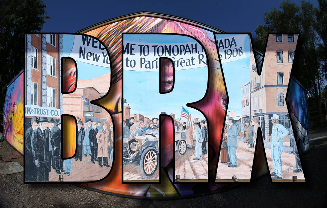 Special to the Times-Bonanza The Strings of Imagination mural on the Brewery Arts Center in Car ...