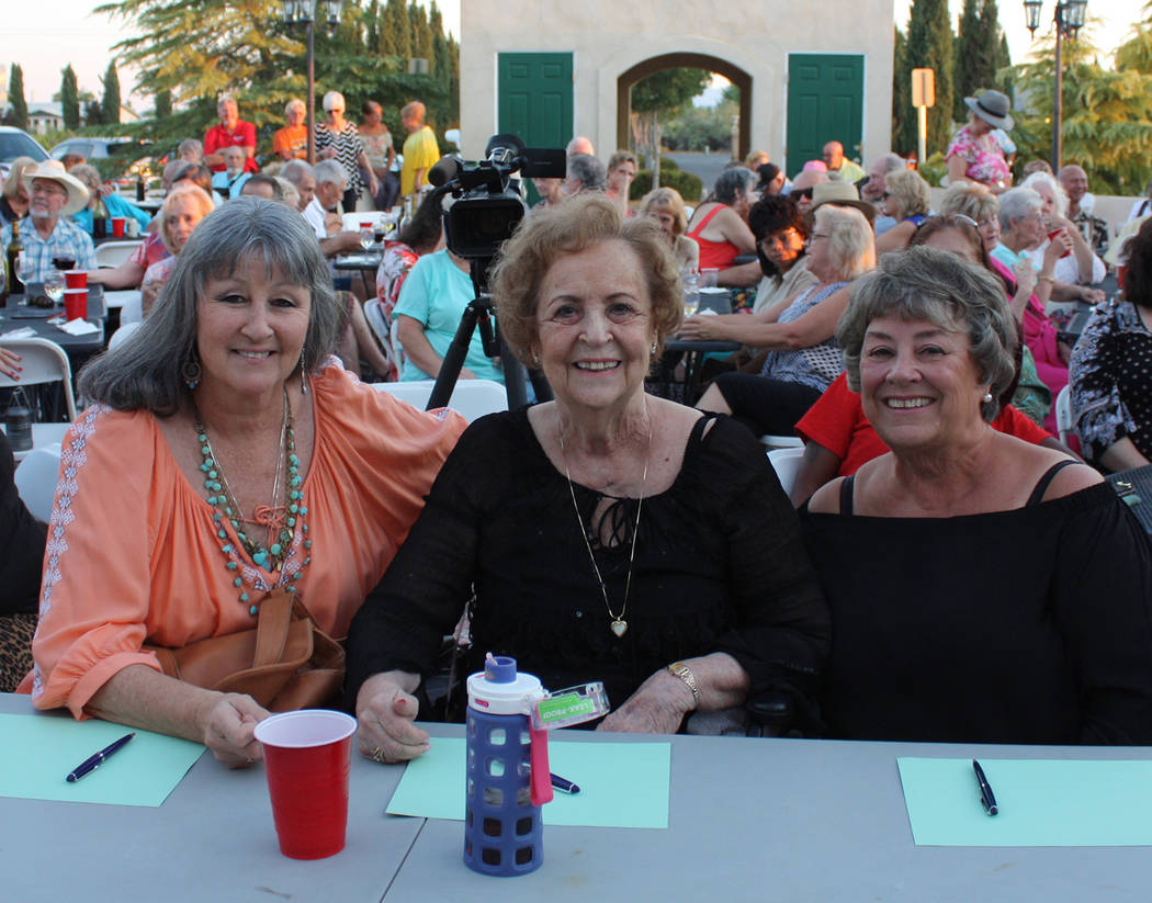 Robin Hebrock/Pahrump Valley Times Mr. Hunk from Pahrump judges included Kim Cornell-Lyle, Mitz ...