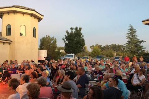 Robin Hebrock/Pahrump Valley Times The Mr. Hunk from Pahrump Pageant attracted a large crowd on ...