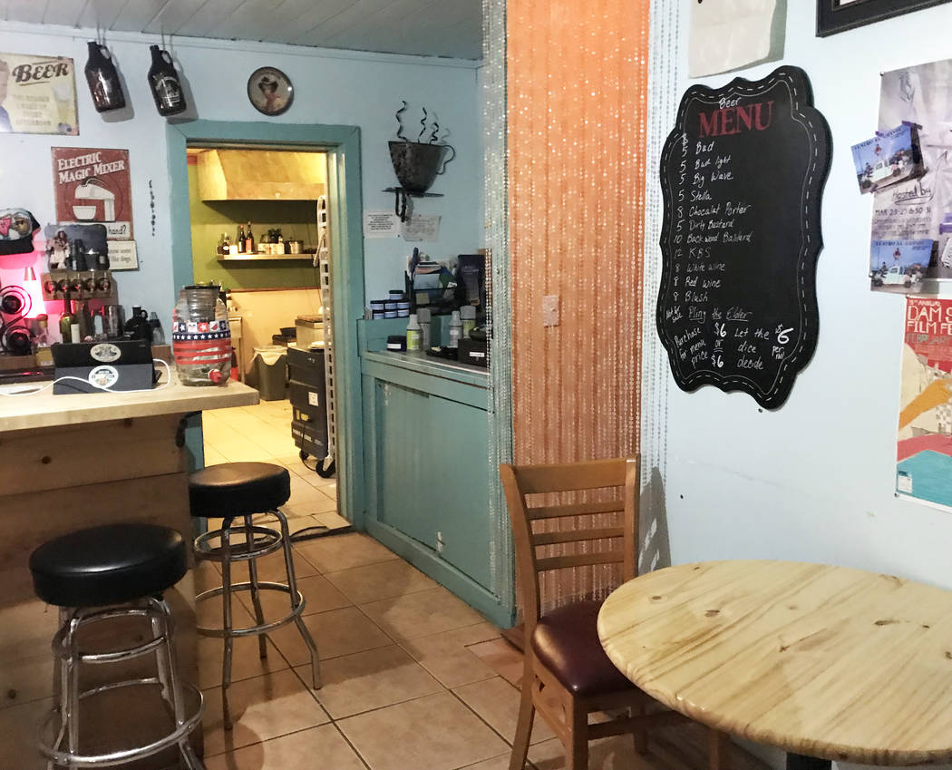 Robin Flinchum/Special to the Pahrump Valley Times Steaks and Beer expanded their seating this ...