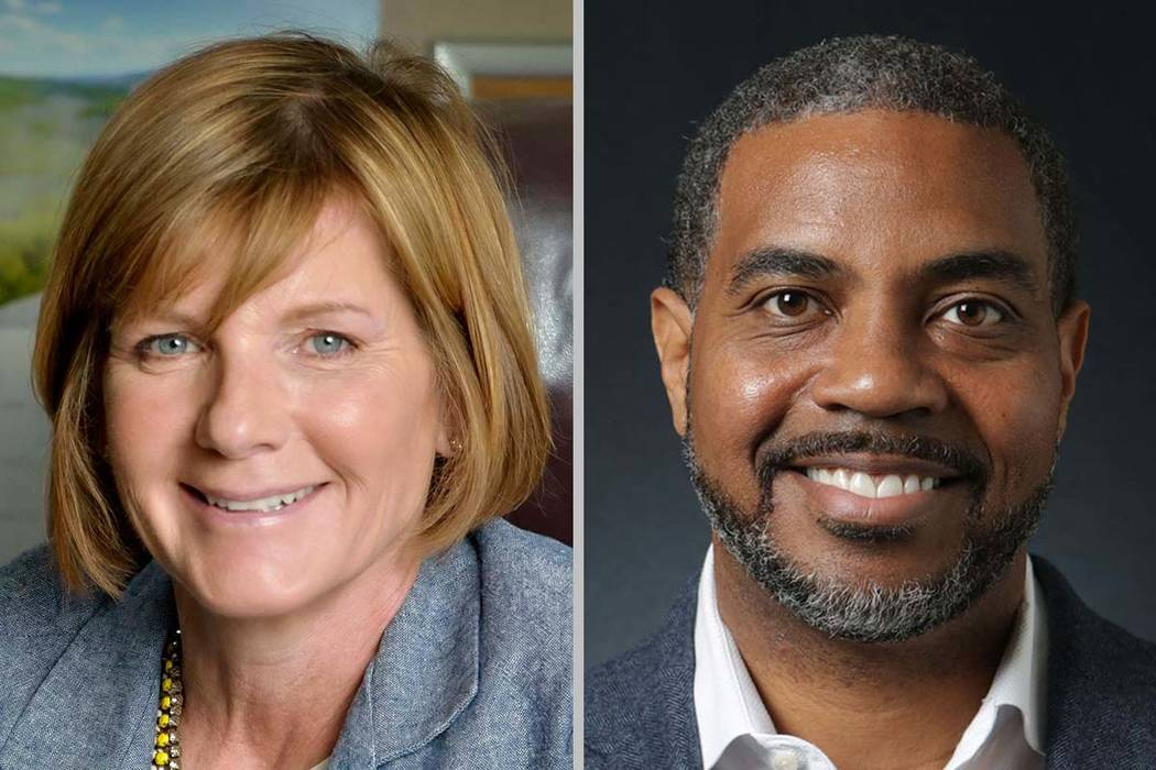 Reps. Susie Lee and Steven Horsford of Nevada (Las Vegas Review-Journal)