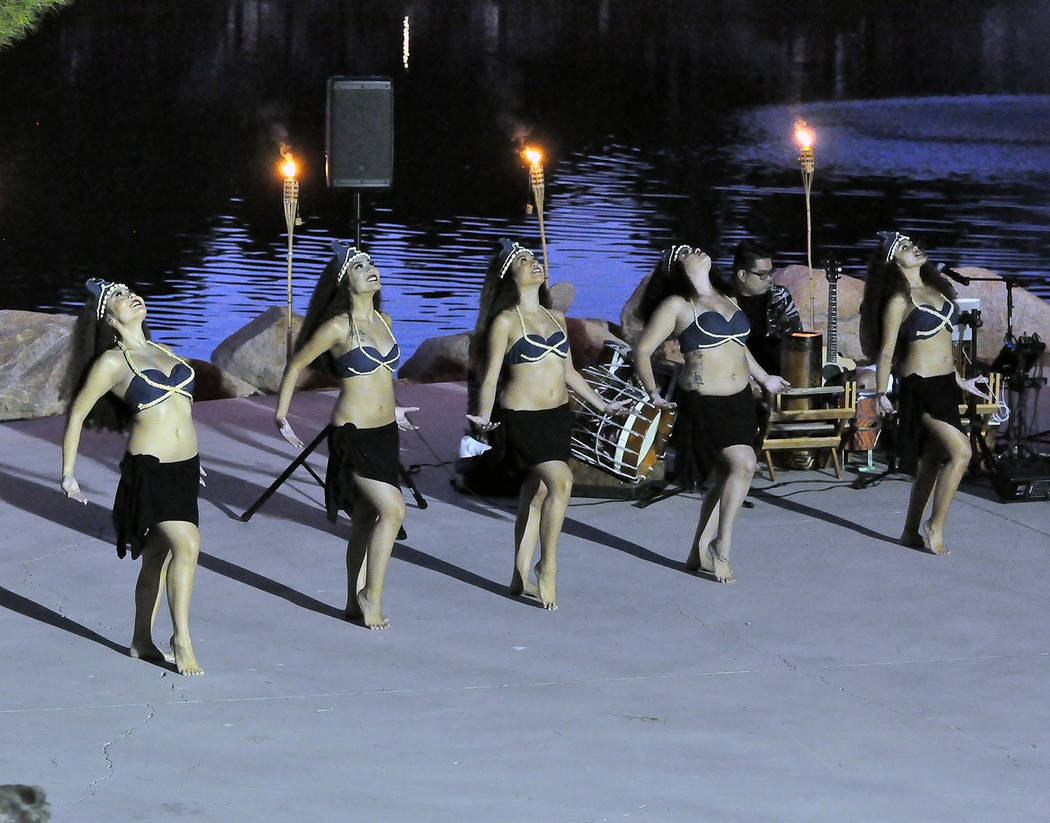 Horace Langford Jr./Pahrump Valley Times Rau Tama Nui dancers brought an authentic performance ...