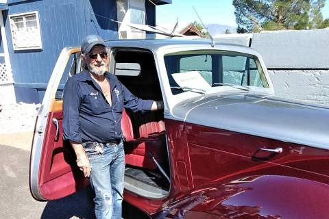 Selwyn Harris/Pahrump Valley Times Top Notch owner Marcel Pontbriand stands alongside his two-t ...