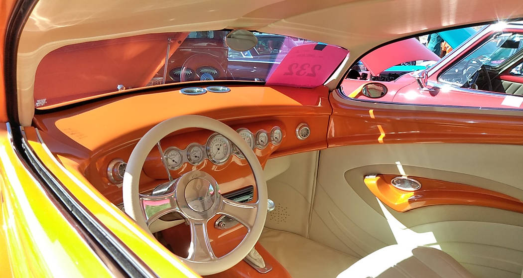Selwyn Harris/Pahrump Valley Times Some of the modifications on Jerry Keith's 1937 Ford include ...