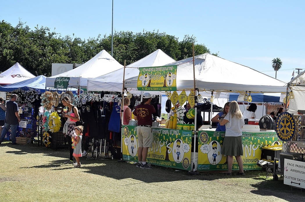 Horace Langford Jr./Pahrump Valley Times A look at the 2018 Pahrump Fall Festival. The annual s ...