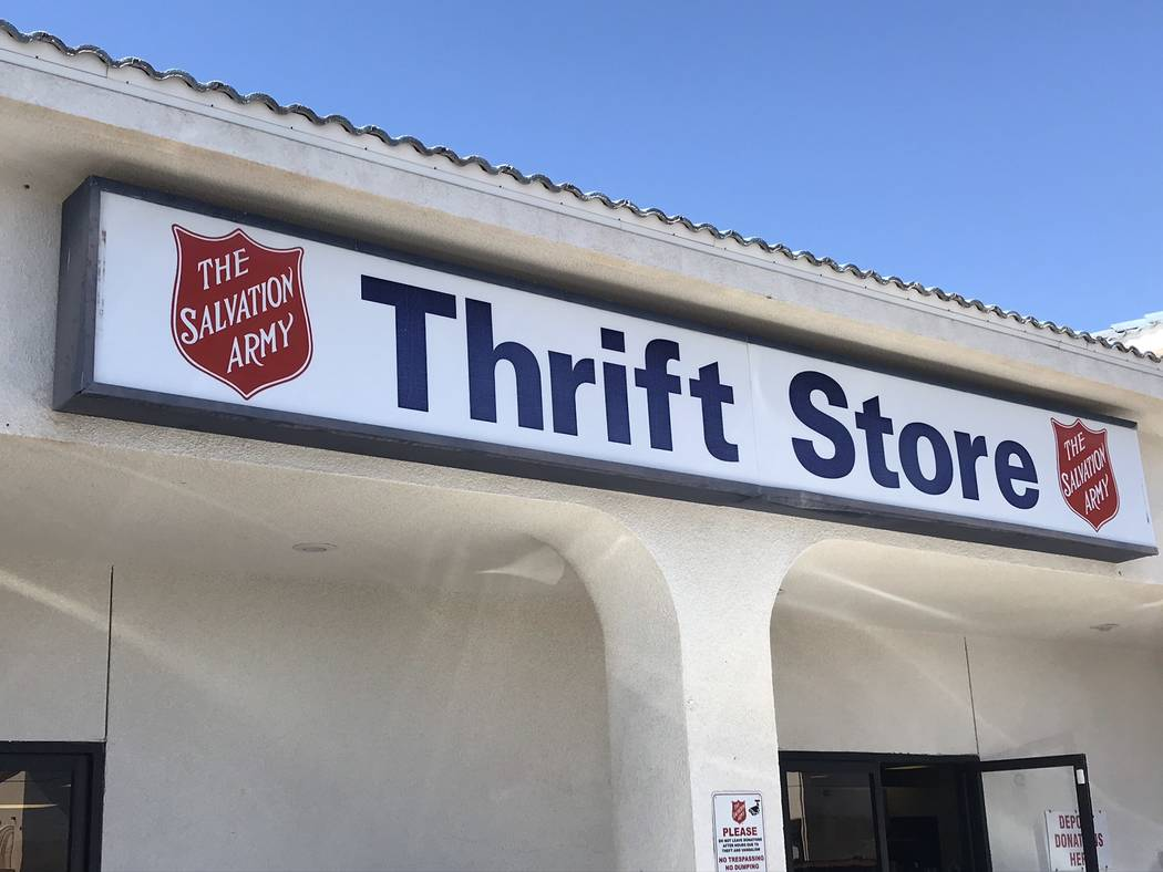 Jeffrey Meehan/Pahrump Valley Times The Salvation Army Family Thrift Store in Pahrump at 240 Da ...