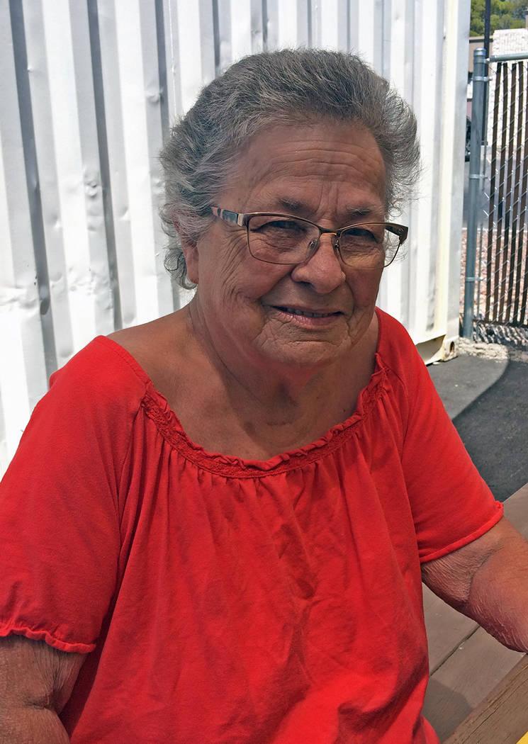 Robin Hebrock/Pahrump Valley Times Pahrump resident Barbara Tennant's own experiences following ...