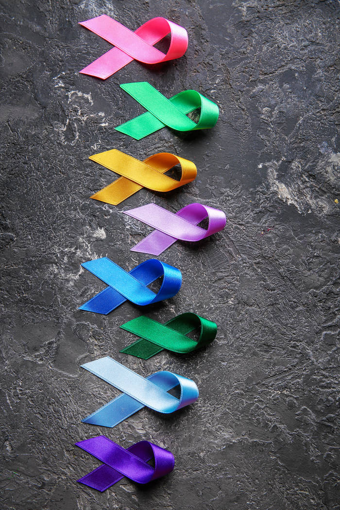 Getty Images There are many types of cancer and various colored ribbons dedicated to raising aw ...