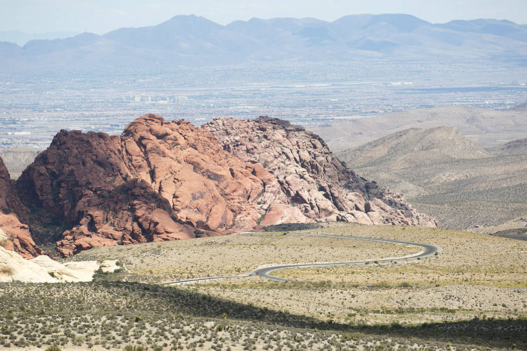 Special to the Pahrump Valley Times Red Rock Canyon National Conservation Area has a 13-mile-lo ...