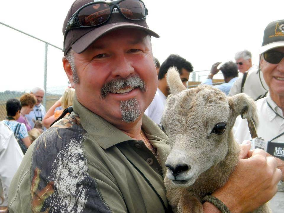 Nevada Department of Wildlife Brett K. Jefferson, of Las Vegas, was presented with the 2018 Kir ...