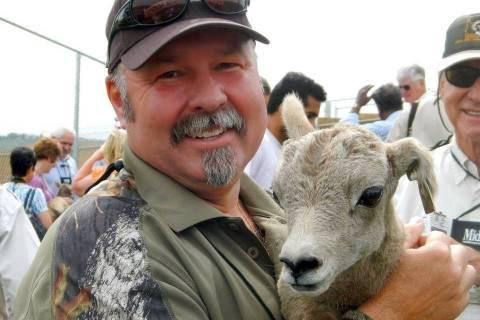 Nevada Department of Wildlife Brett K. Jefferson, of Las Vegas, was presented with the 2018 Kir ...