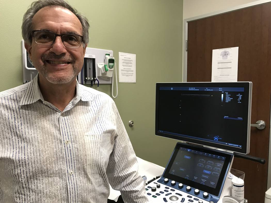 Jeffrey Meehan/Pahrump Valley Times Dr. Tali Arik, longtime cardiologist in Pahrump, is bringin ...
