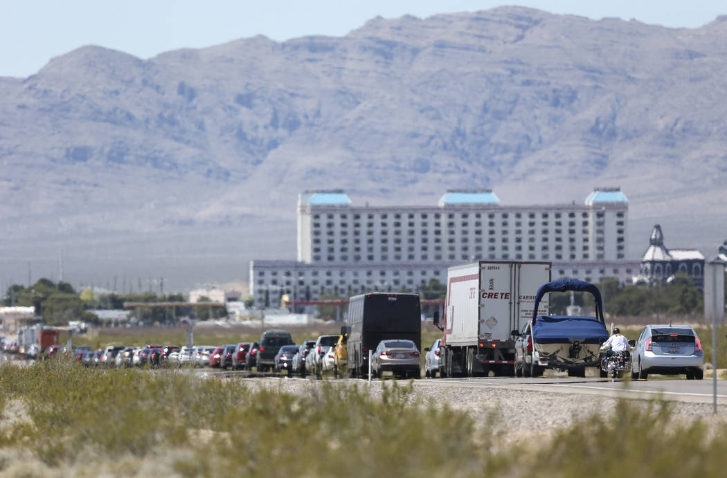 Richard Brian/Las Vegas Review-Journal The agreements will fund projects to combat impaired dri ...