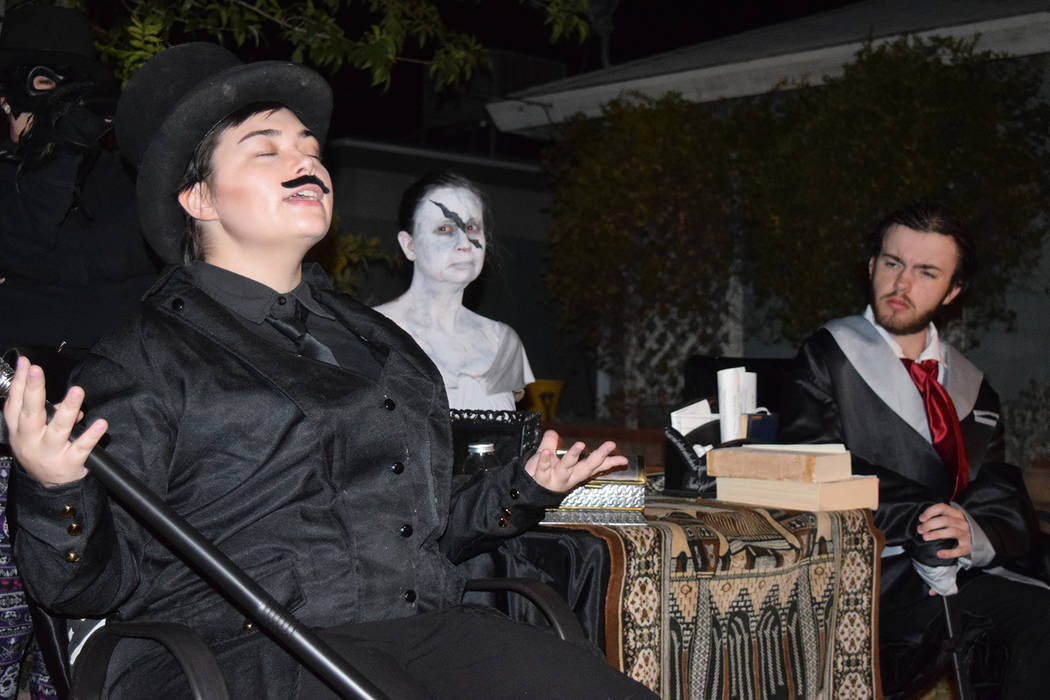 Photo courtesey Master Mystery Productions Master Mystery Productions returns to the Amargosa O ...