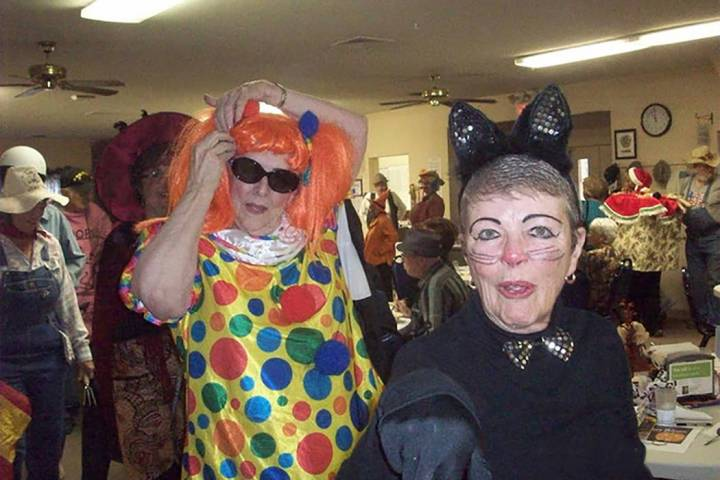 "Selwyn Harris/Pahrump Valley Times The 6th annual Pahrump Senior Center ""Monster Mash"" celebrat ..."