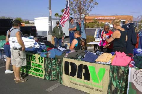 Selwyn Harris/Pahrump Valley Times This file photo shows the Disabled American Veterans Chapte ...