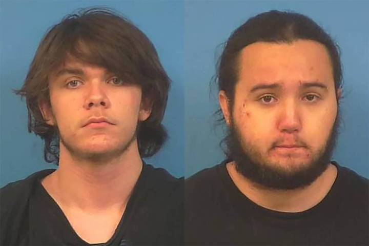 Special to the Pahrump Valley Times Michael Wilson and Dakota Saldivar, are scheduled to stand ...