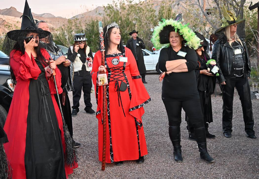 Richard Stephens/Special to the Pahrump Valley Times The annual Witches Walk in Beatty attracte ...