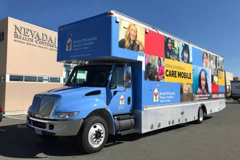 Nevada Health Centers The Ronald McDonald Care Mobile set to visit Pahrump and Amargosa Valley ...