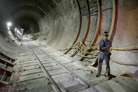 K.M. Cannon/Las Vegas Review-Journal Yucca Mountain was designated in 1987 as the site for perm ...