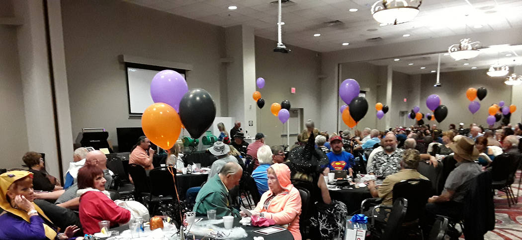 Selwyn Harris/Pahrump Valley Times Locals and non-locals filled the Pahrump Nugget banquet room ...