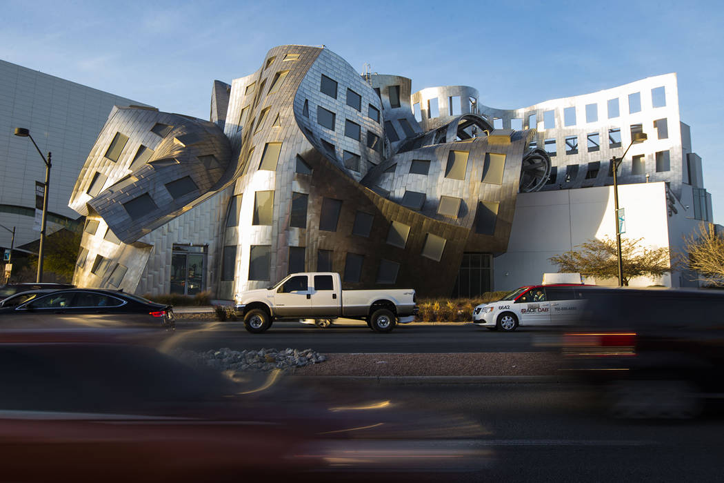 Chase Stevens Las Vegas Review-Journal Cleveland Clinic Lou Ruvo Center for Brain Health named ...