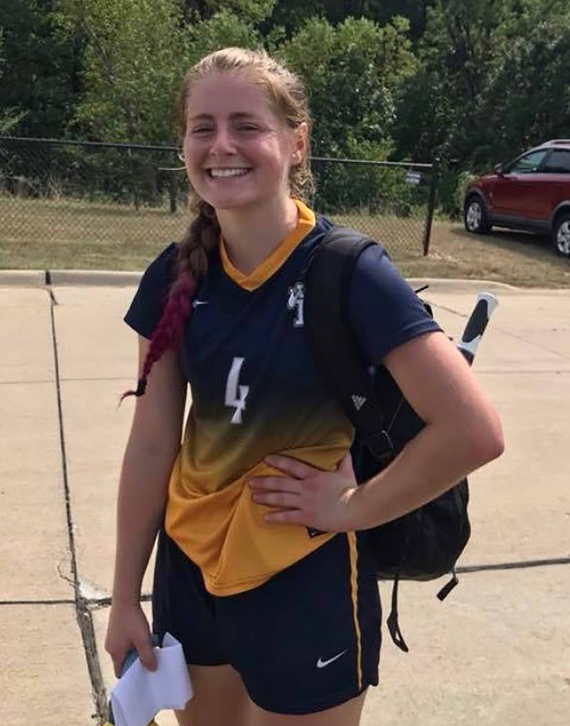Special to the Pahrump Valley Times Kathy Niles, a sophomore at William Penn University in Oska ...