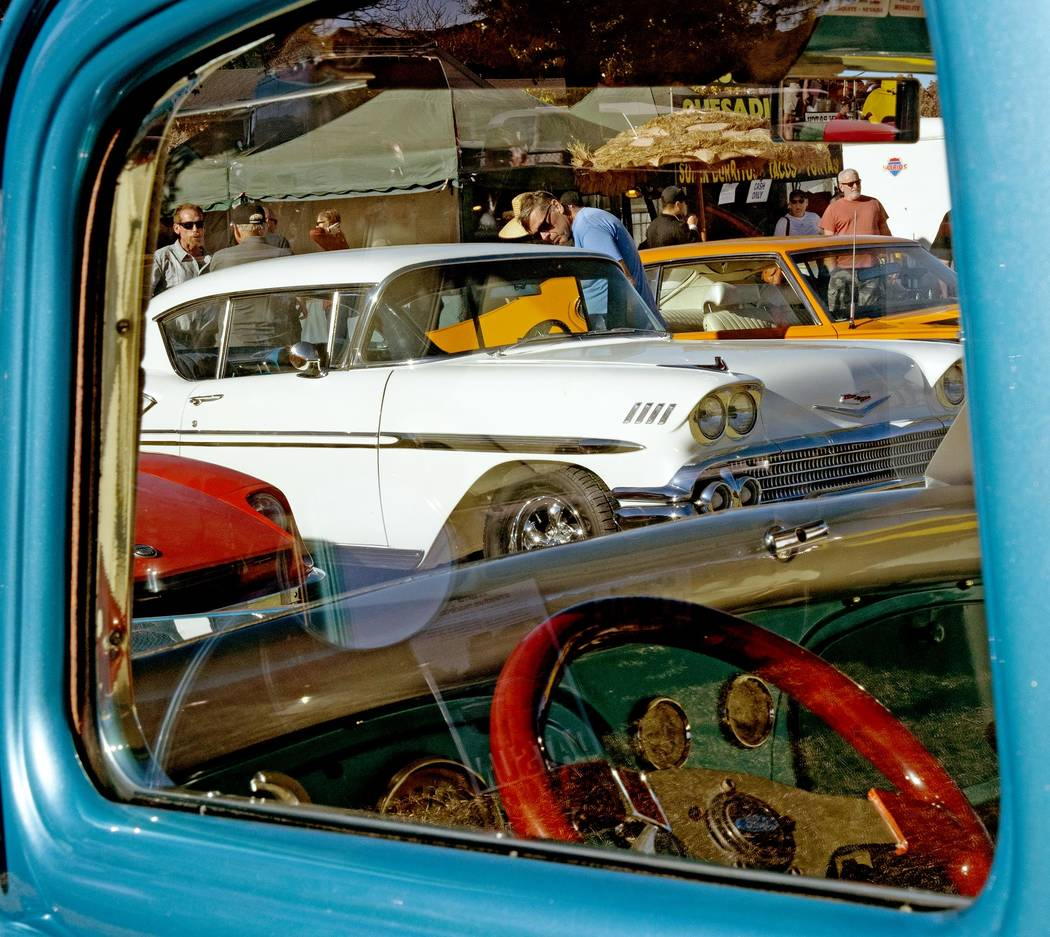 Richard Stephens/Special to the Pahrump Valley Times The many classic cars on display are alway ...
