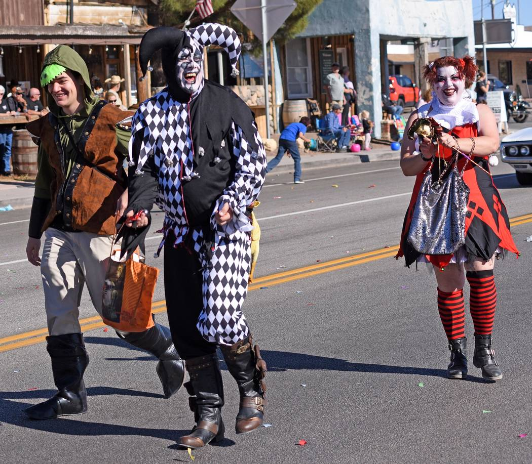 Richard Stephens/Special to the Pahrump Valley Times The Beatty Days Parade is a traditional pa ...