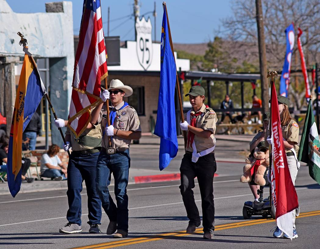 Richard Stephens/Special to the Pahrump Valley Times No parade would be complete without the ho ...