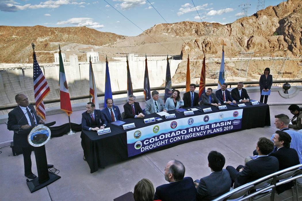 Rachel Aston/Las Vegas Review-Journal Terry Fulp, Lower Colorado Regional Director for the Bure ...
