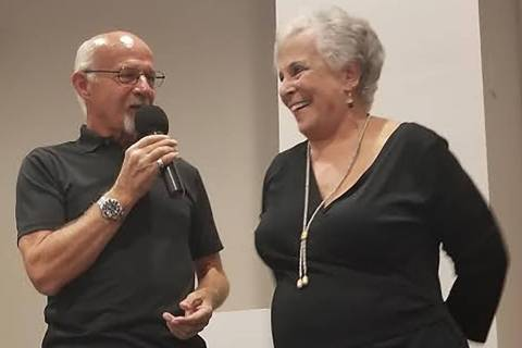 David Jacobs/Pahrump Valley Times This file photo shows well-known local Willi Baer, right, tak ...